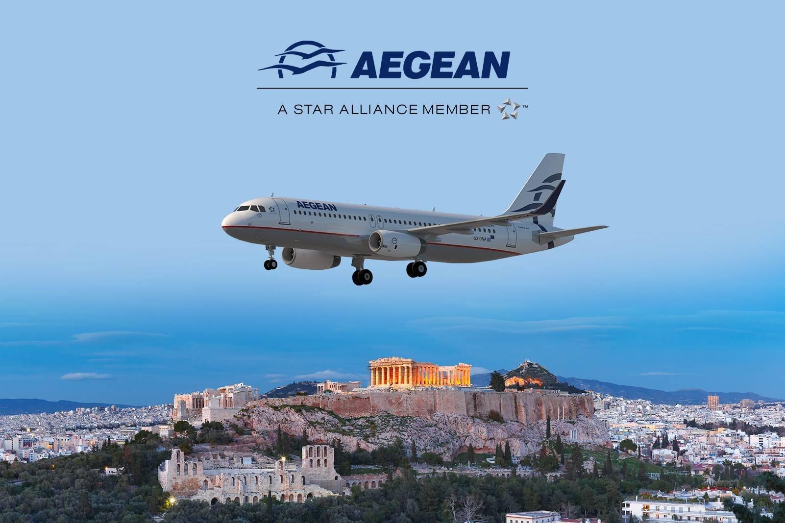 Aegean Airlines ile İstanbul - Atina Uçuşlarında İndirim Fırsatı