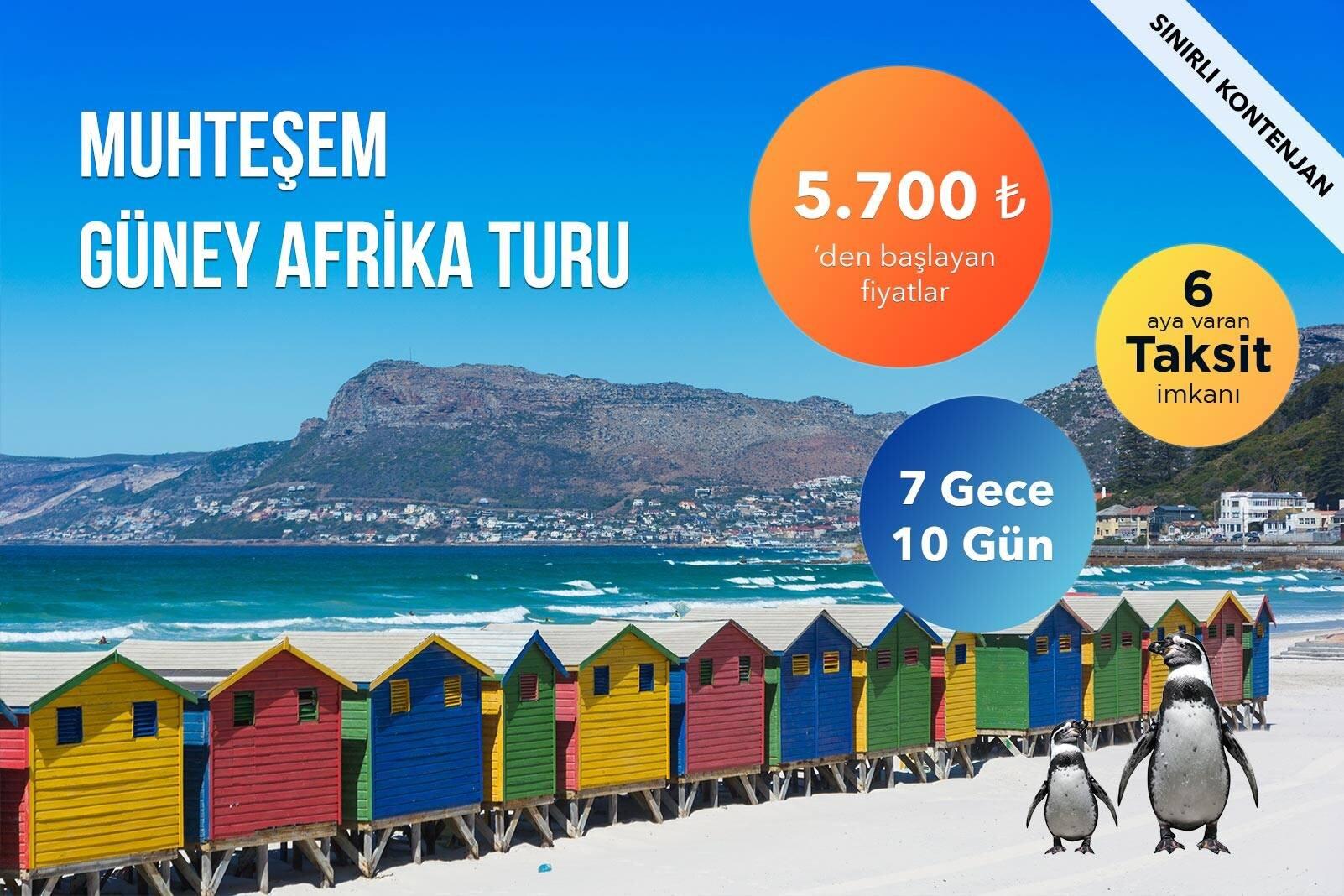 Güney Afrika Turu Fırsatı