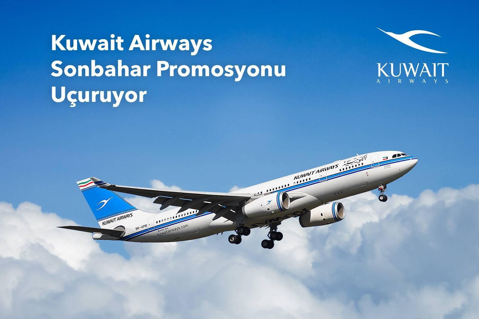 Kuveyt Hava Yolları Sonbahar İndirim Fırsatlarını Kaçırmayın!